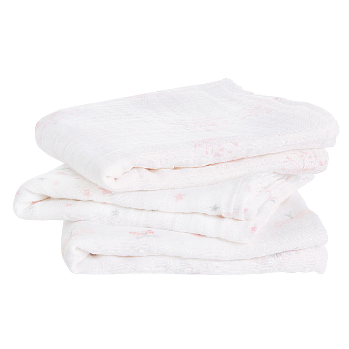 Aden + Anais Lovely Reverie Musy Muslin Squares 3 Pack - The Baby Service