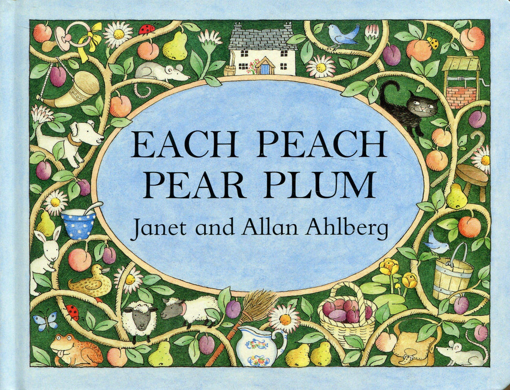 Each Peach Pear Plum by Janet Ahlberg Children's Classic Story Books