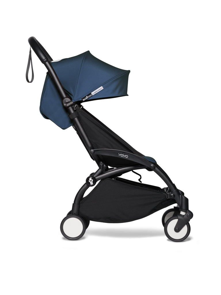 BABYZEN YOYO² Complete Stroller - Air France Blue - Side View - The Baby Service