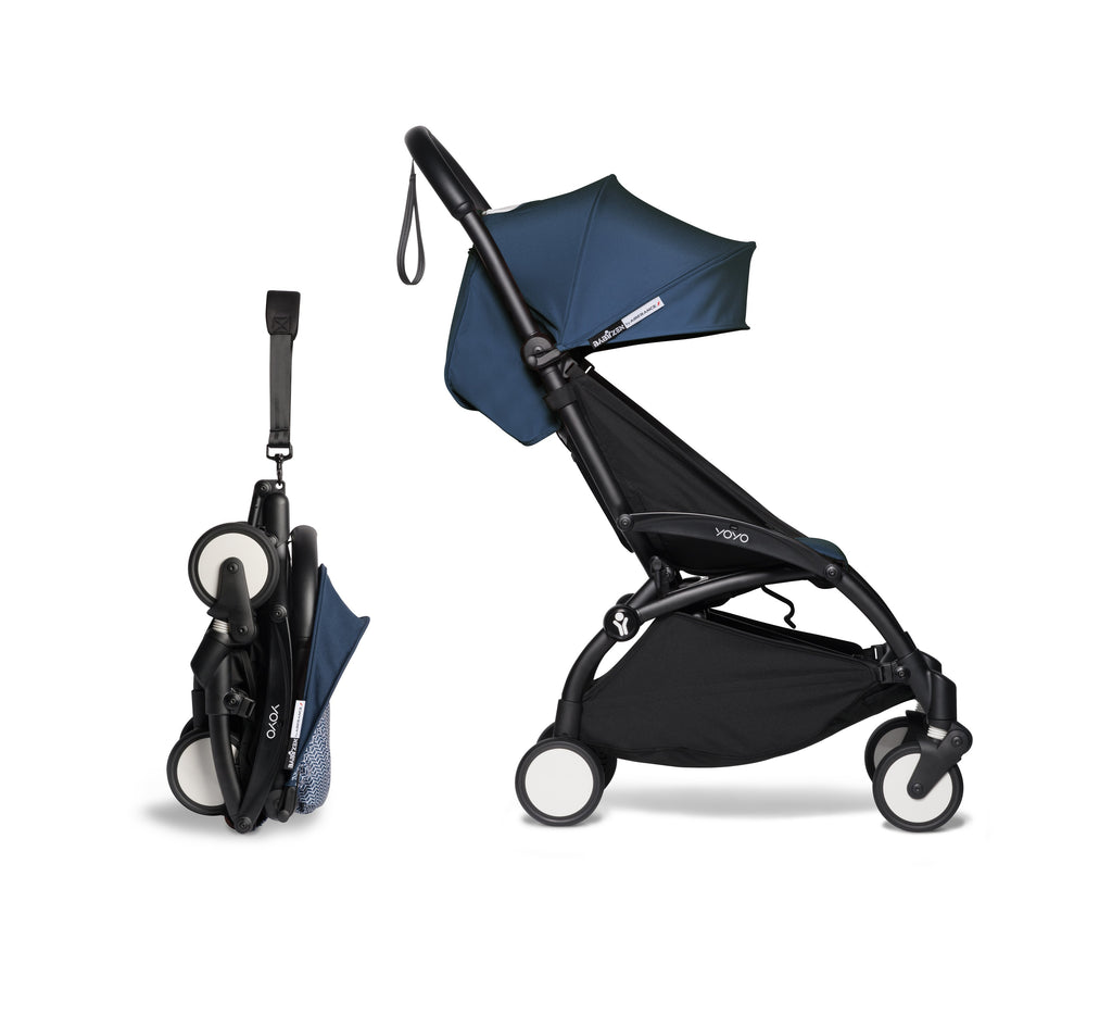 BABYZEN YOYO² Complete Stroller - Air France Blue - Compact - The Baby Service