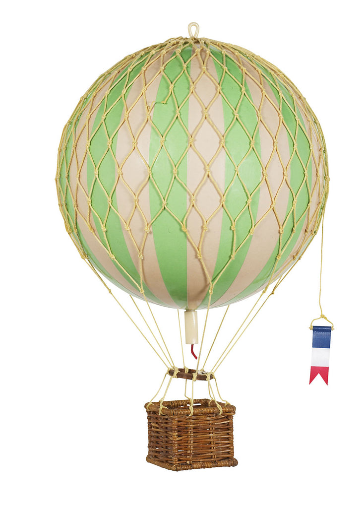 Green Authentic Models Travels Light Hot Air Balloon - Medium
