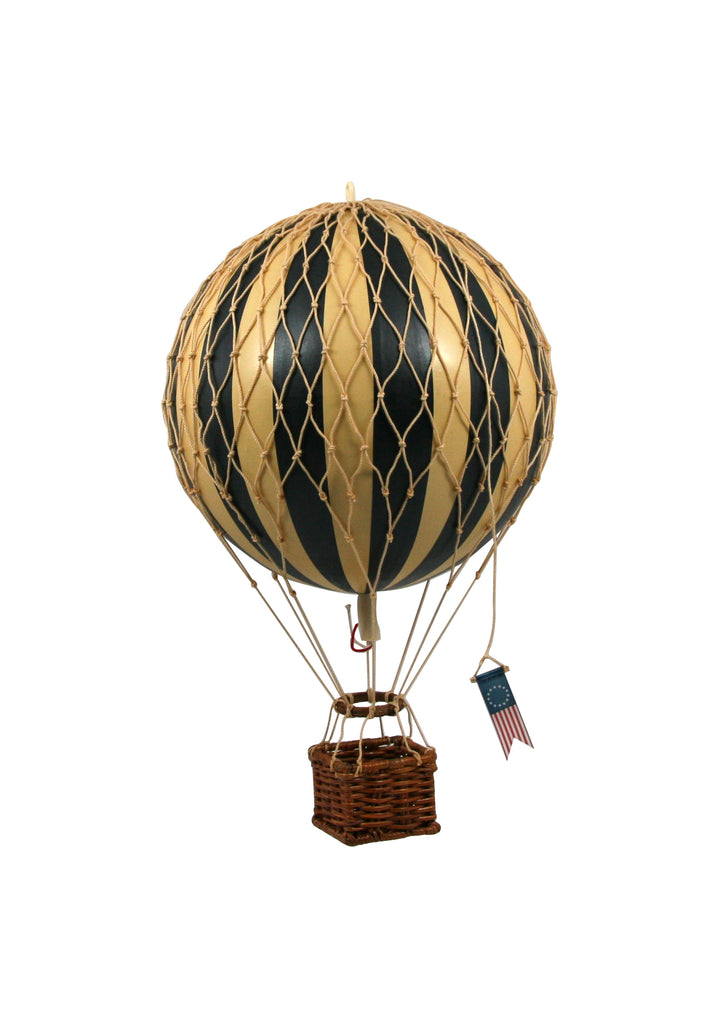 Black Authentic Models Travels Light Hot Air Balloon - Medium