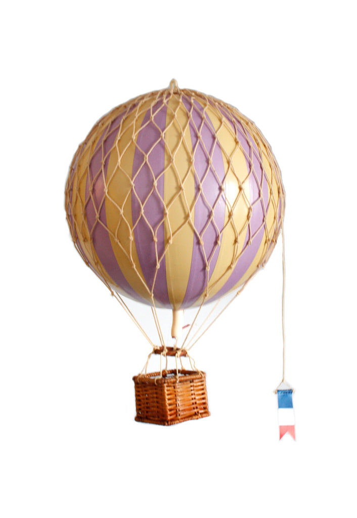 Lavender Authentic Models Travels Light Hot Air Balloon - Medium