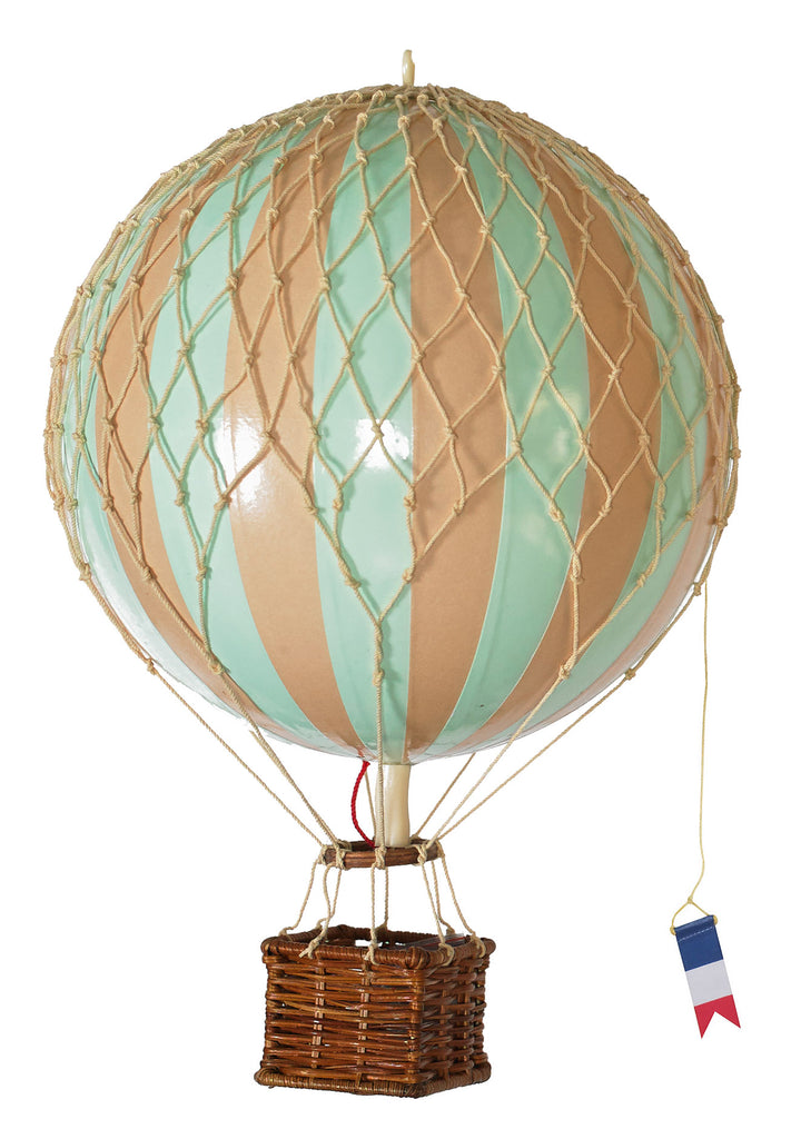 Mint Green Authentic Models Travels Light Hot Air Balloon - Medium