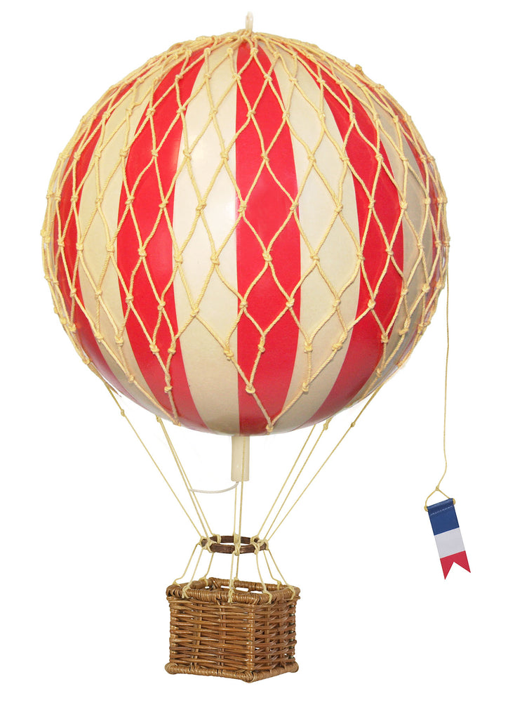 Red Authentic Models Travels Light Hot Air Balloon - Medium Nursery Gift Inspiration Ideas