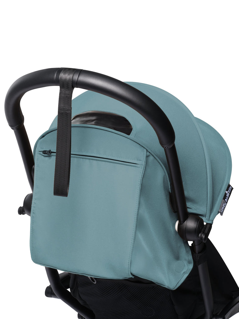 BABYZEN YOYO² Complete Stroller - Aqua - Back View - The Baby Service