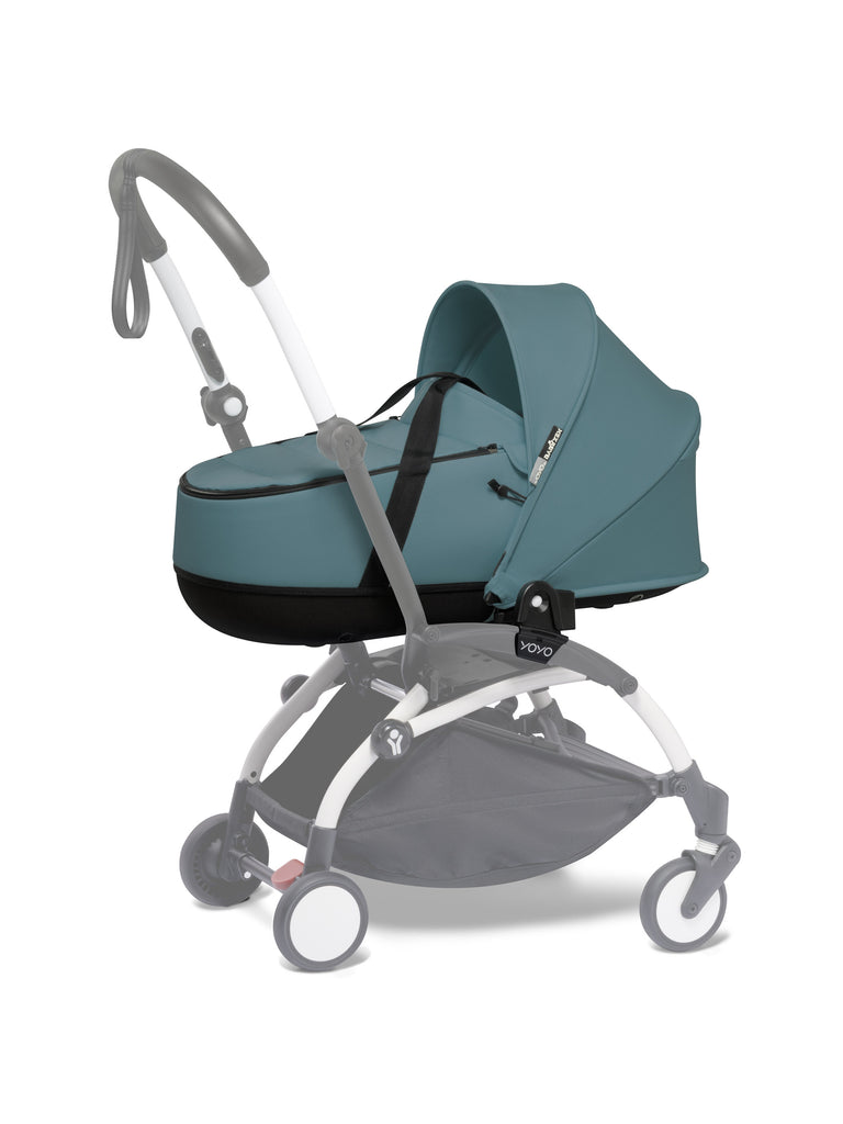 BABYZEN YOYO Bassinet - Aqua - Travel Stroller - The Baby Service