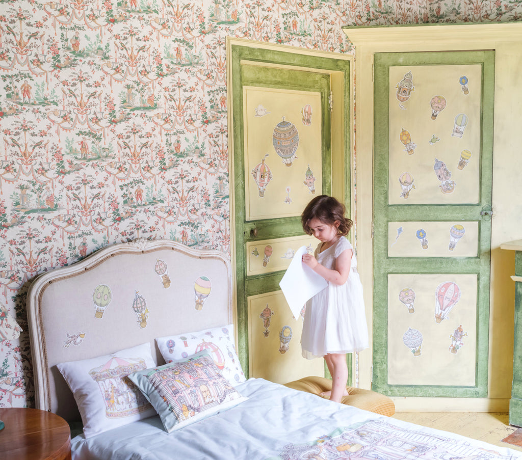 Atelier Choux Paris - Replaceable Wall Stickers - Nursery Room Ideas - The Baby Service