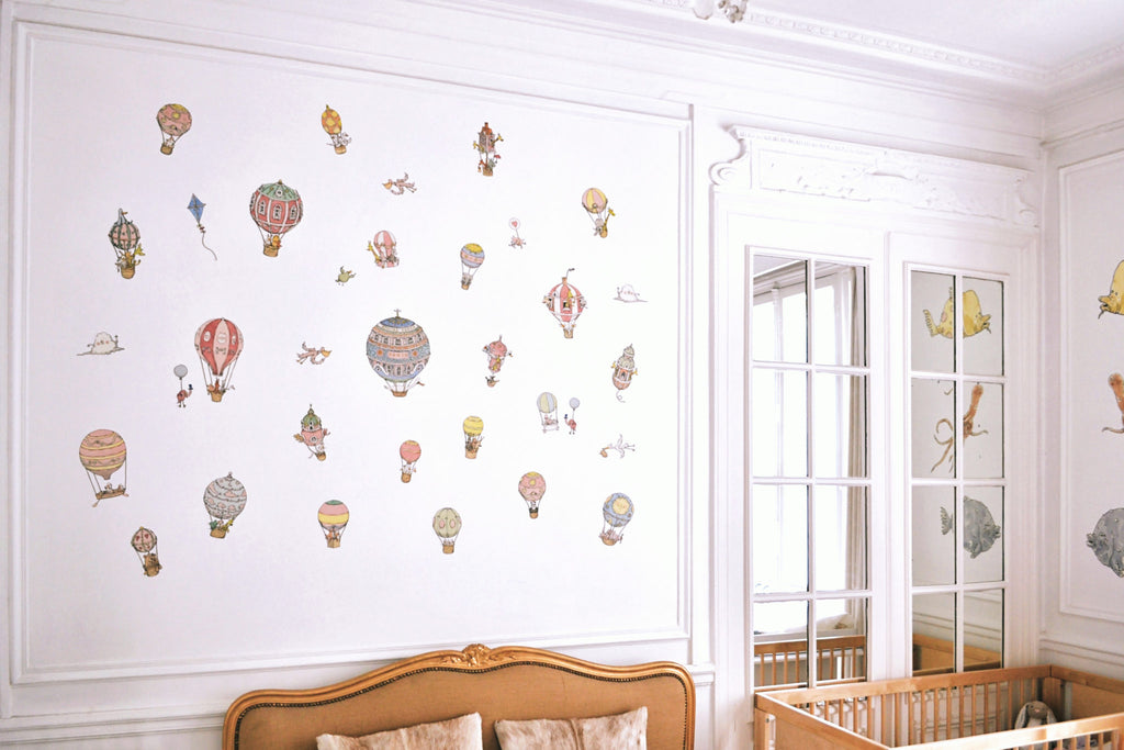Atelier Choux Paris - Replaceable Wall Stickers - The Baby Service