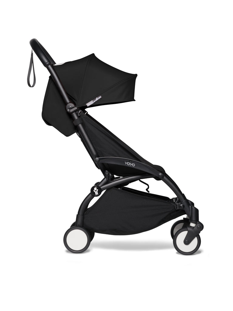 BABYZEN YOYO² Complete Stroller - Black - Side View - The Baby Service