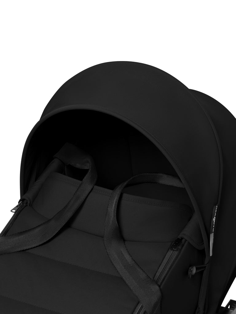 BABYZEN YOYO Bassinet - Black - The Baby Service  - Surrey Chobham