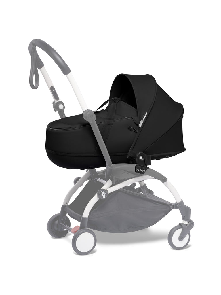 BABYZEN YOYO Bassinet - Black - The Baby Service - Travel Pushchair