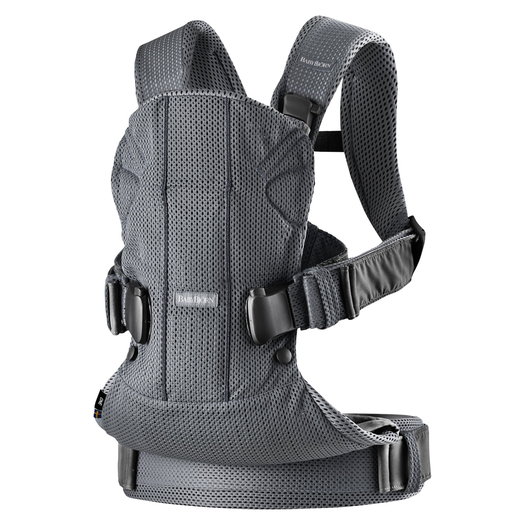 BabyBjorn Baby Carrier One Air - Anthracite 3D Mesh - The Baby Service - Chobham, Surrey