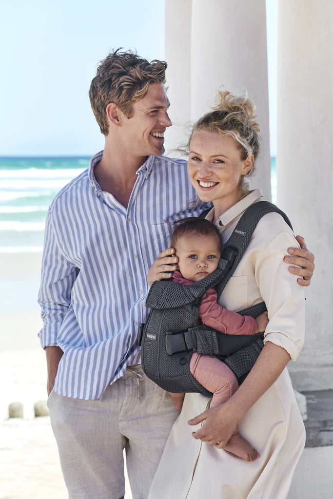 BabyBjorn Baby Carrier One Air - Anthracite 3D Mesh - The Baby Service