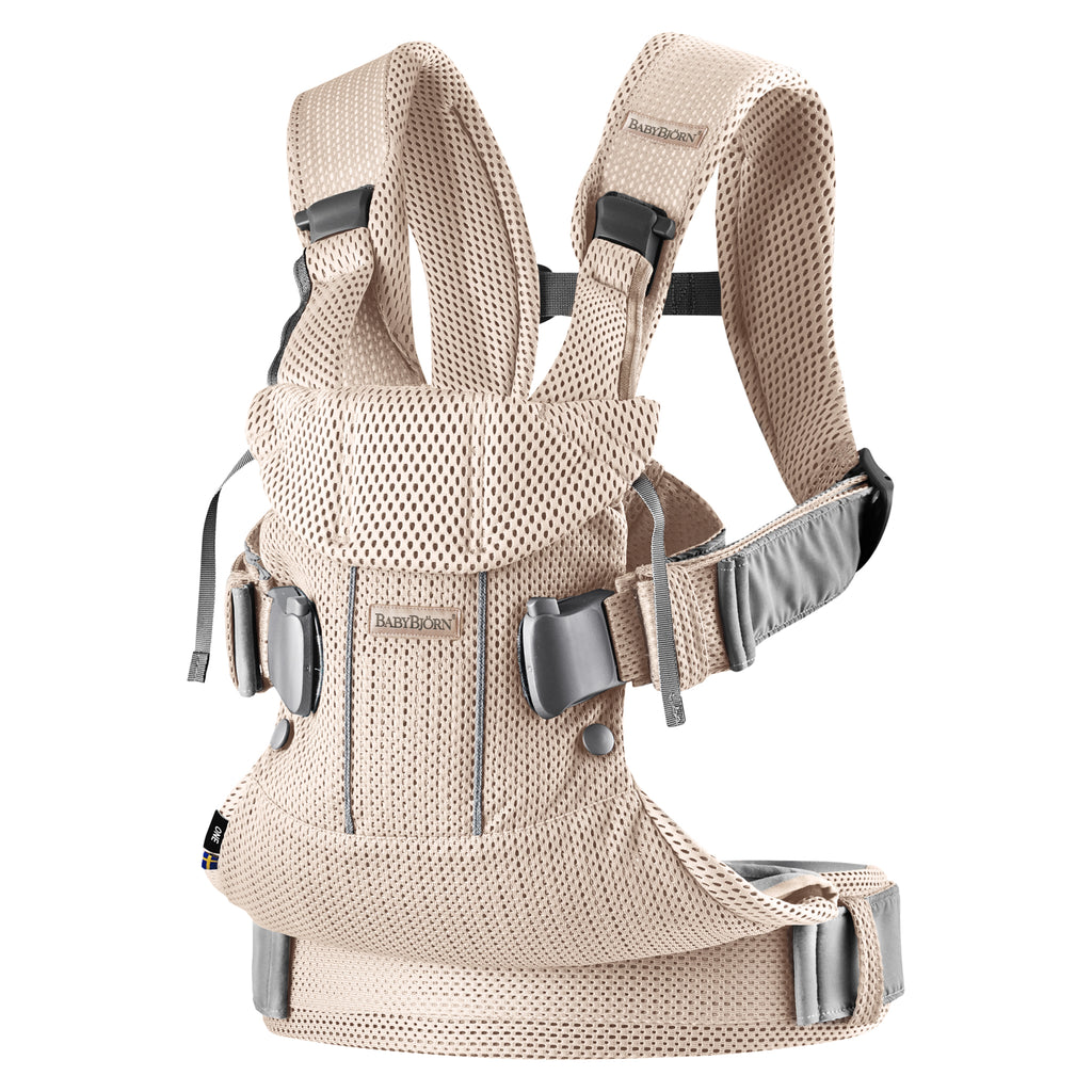 BabyBjorn Baby Carrier One Air - Pearly Pink 3D Mesh - The Baby Service