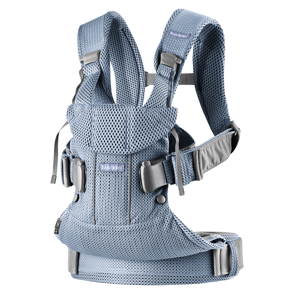 BabyBjorn Baby Carrier One Air - Slate Blue 3D Mesh - The Baby Service
