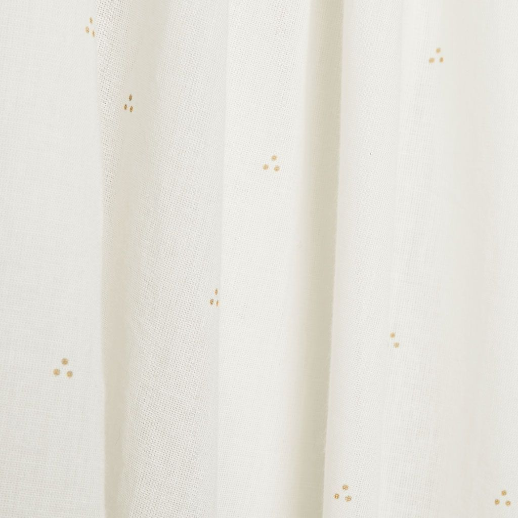 Cam Cam Copenhagen Bed Canopy - Dot Creme Gold - The Baby Service