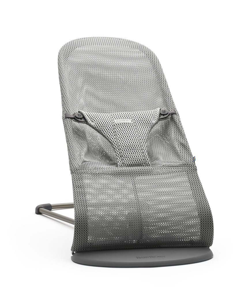 BabyBjorn Bouncer Bliss Mesh - Grey - The Baby Service