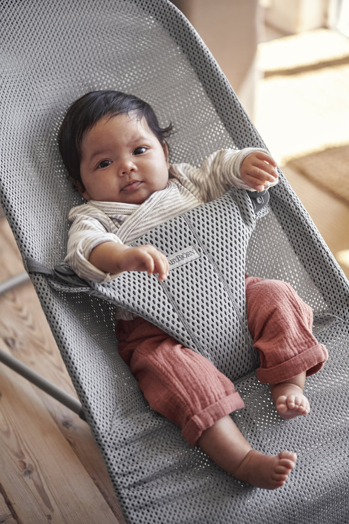 BabyBjorn Bouncer Bliss Mesh - Grey - The Baby Service Lifestyle