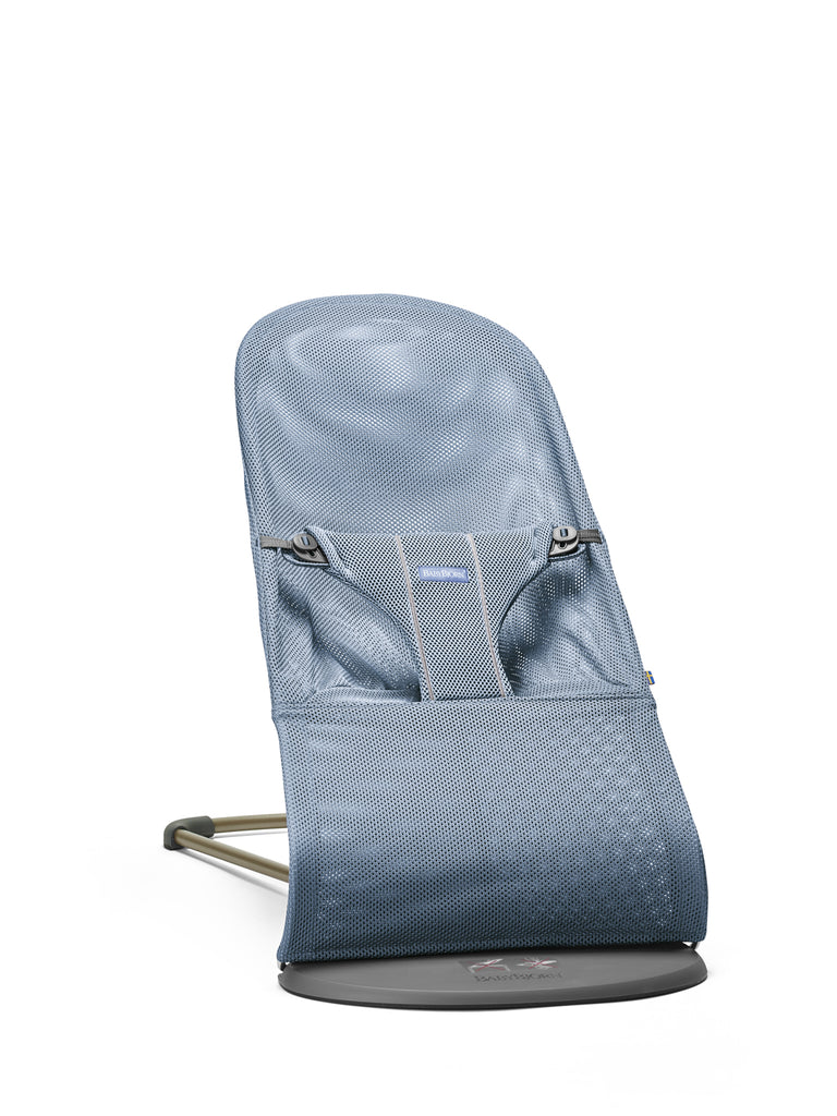 BabyBjorn Bouncer Bliss Mesh - Slate Blue - The Baby Service