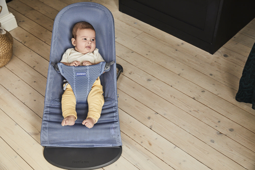 BabyBjorn Bouncer Bliss Mesh - Slate Blue - The Baby Service - Lifestyle
