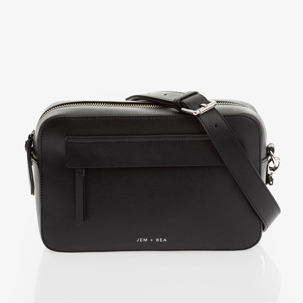 Jem + Bea Cara Crossbody Black - The Baby Service