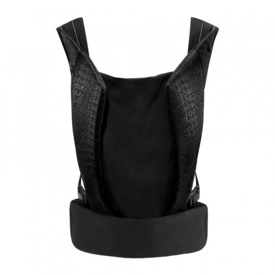 Cybex - Yema Click Baby Carrier Leather Stardust Black - The Baby Service