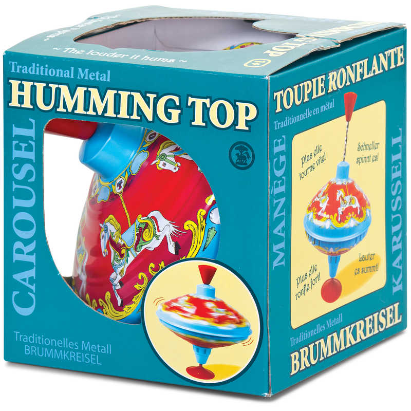 Carousel Humming Top Traditional Toys Gift Ideas