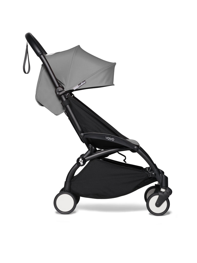 BABYZEN YOYO² Complete Stroller - Grey - Side View - The Baby Service