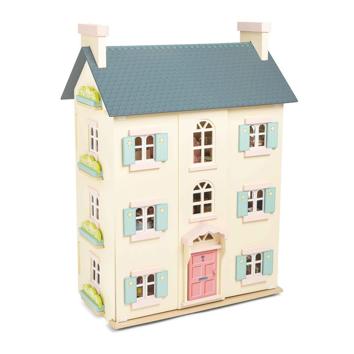 Le Toy Van Cherry Tree Hall Dolls House Set