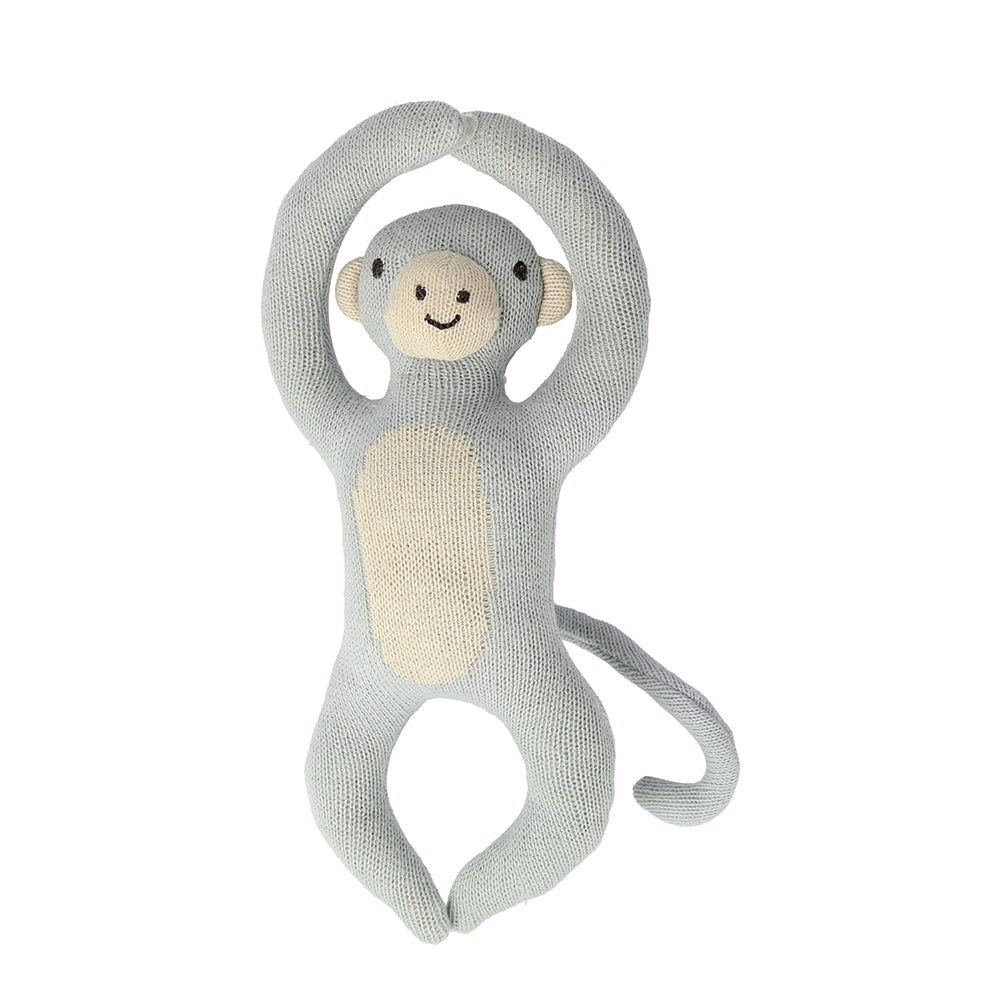 Meri Meri Monkey Baby Rattle - Animal Toys - The Baby Service