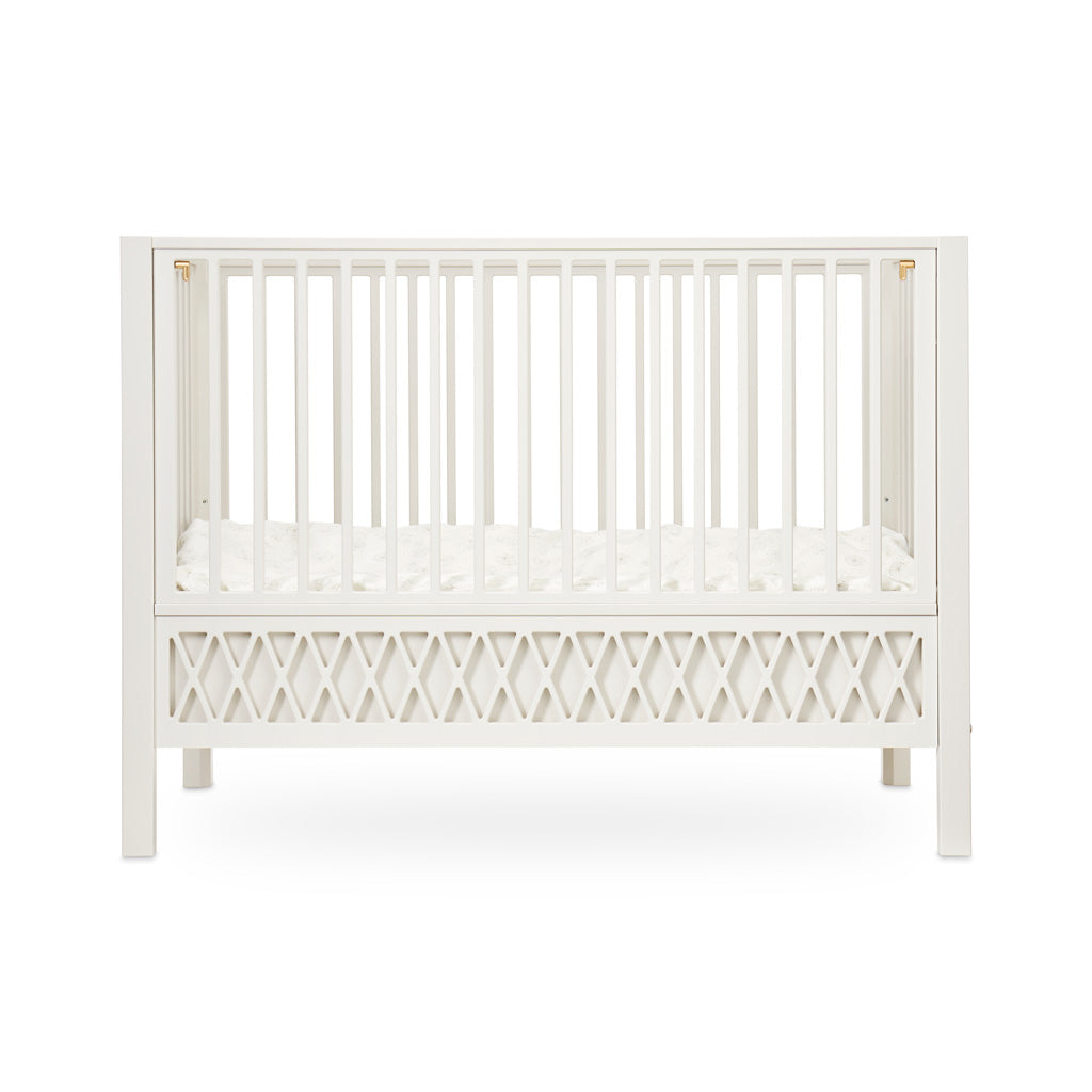 Cam Cam Copenhagen Harlequin Baby Bed Light Sand - The Baby Service
