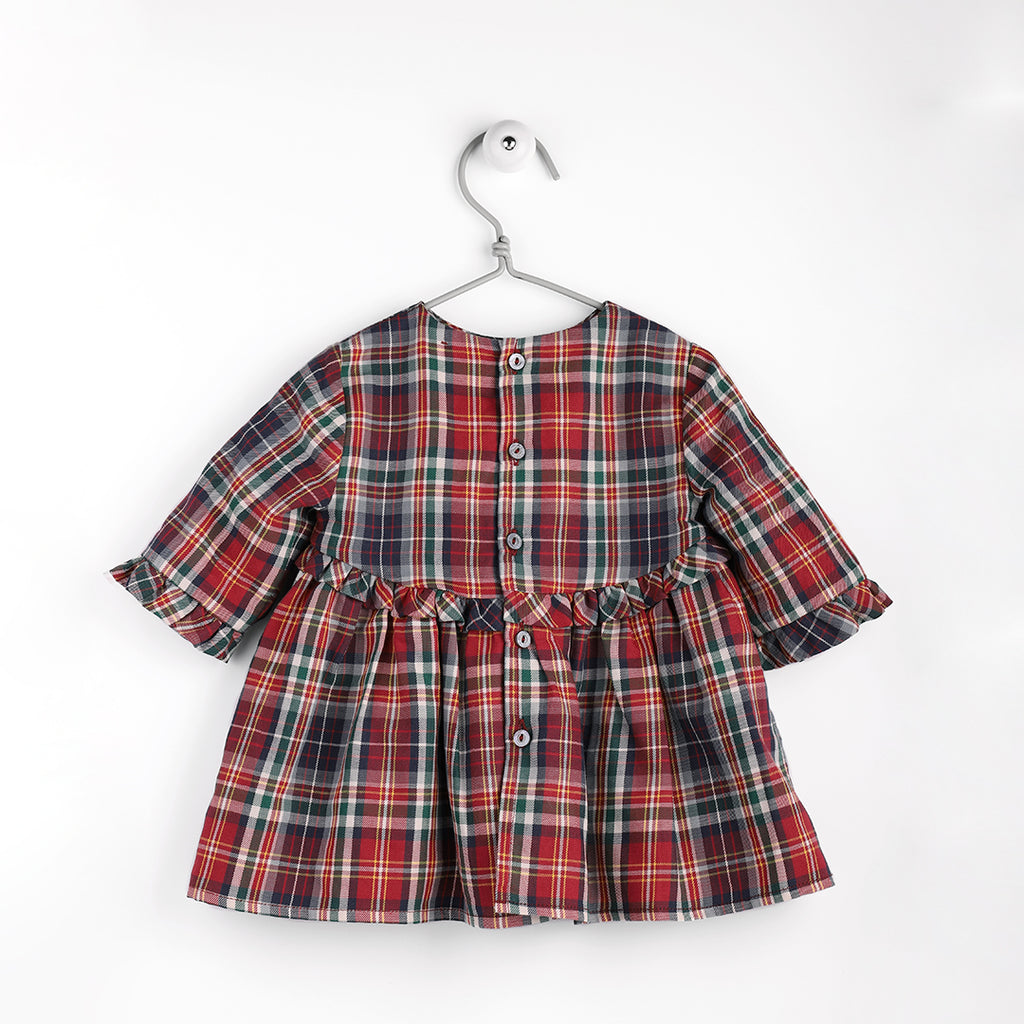 Wedoble - Tartan Romper - Luxury Clothing - The Baby Service