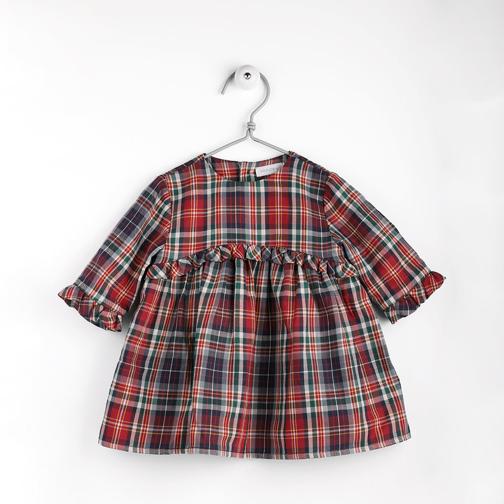 Wedoble - Tartan Romper - Girl's Clothing - The Baby Service