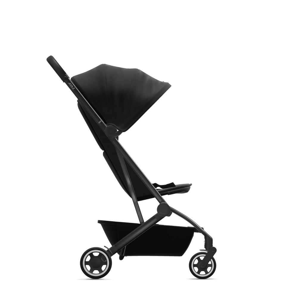 Joolz Aer Pushchair - Refined Black - Travel Stroller - The Baby Service
