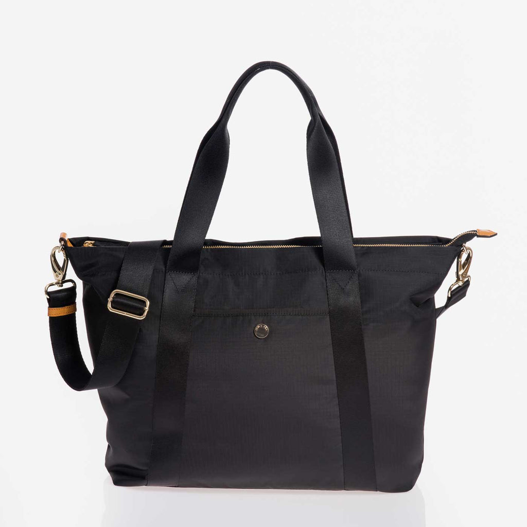 Jem + Bea Lola Black Bag - Luxury Changing Bag - The Baby Service
