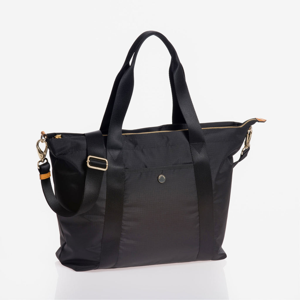 Jem + Bea Lola Black Bag - Baby Changing Shoulder Bag - The Baby Service
