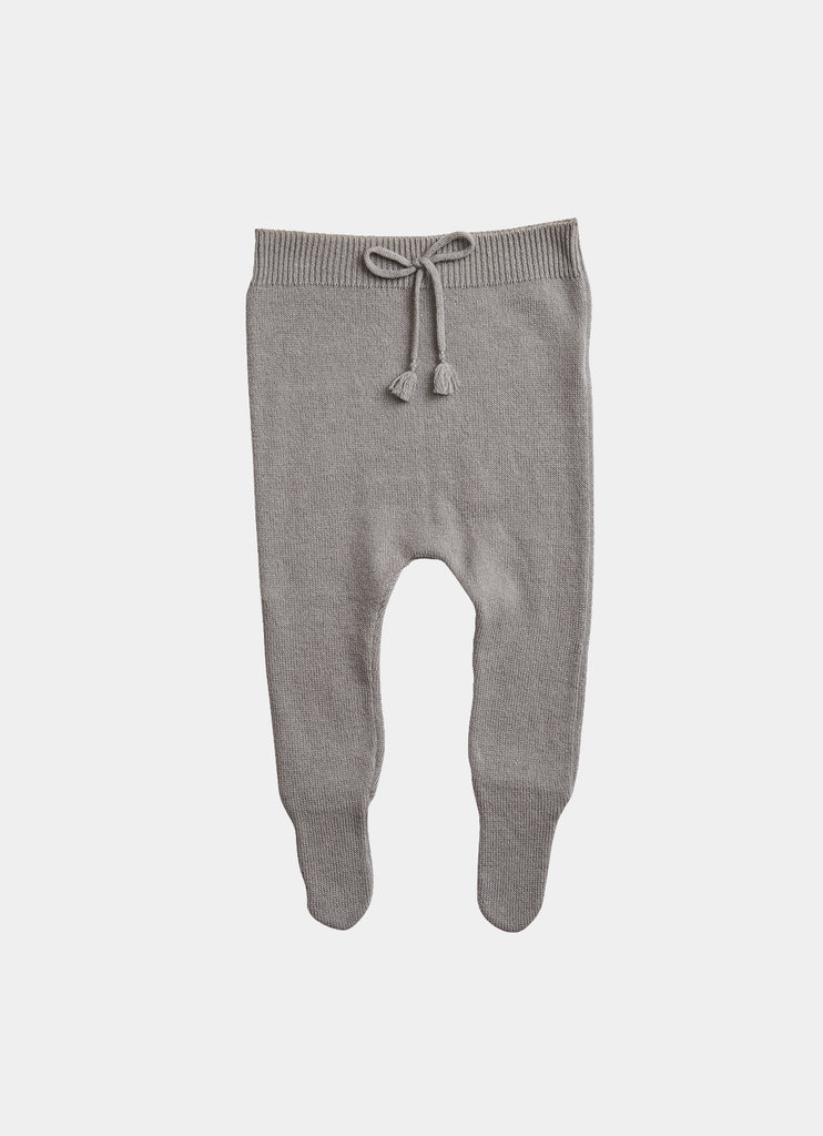 Belle Enfant Cashmere & Merino Outfit Set - Cloud Grey Bottoms