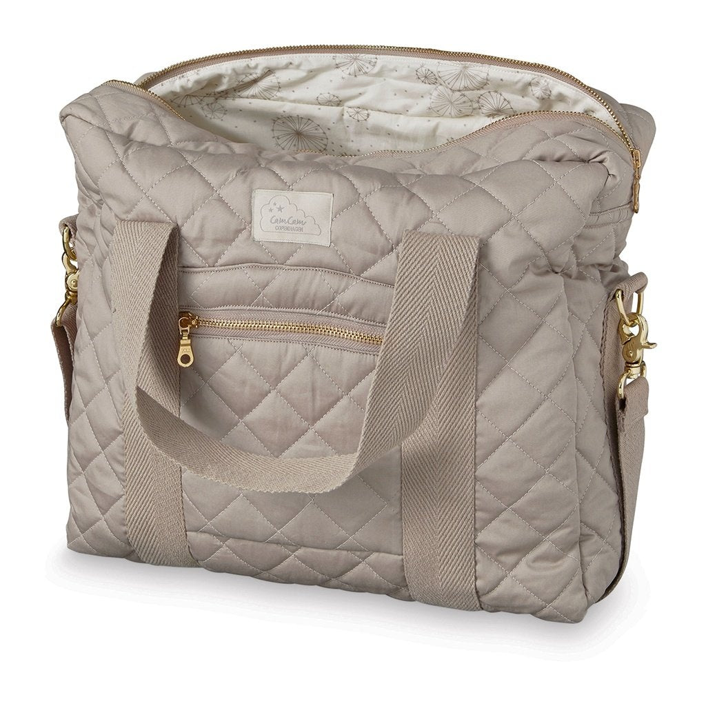 Cam Cam Copenhagen Baby Changing Bag with Long Zipper in Hazel