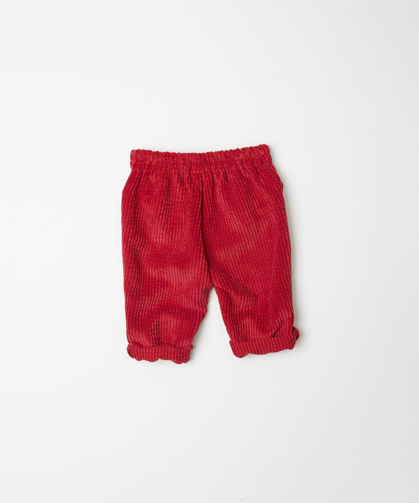 Fina Ejerique - Corduroy Red Trousers