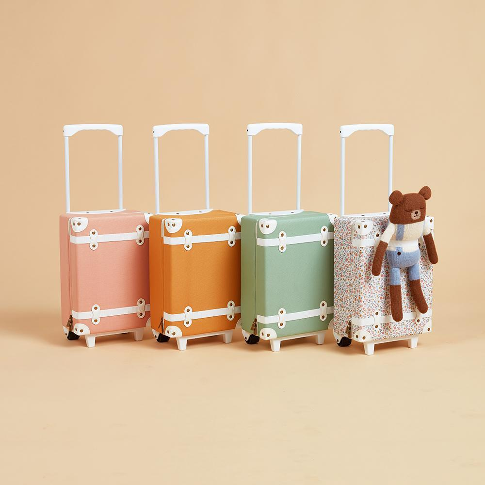 Olli Ella See-Ya Suitcase - Blush - Collection - The Baby Service