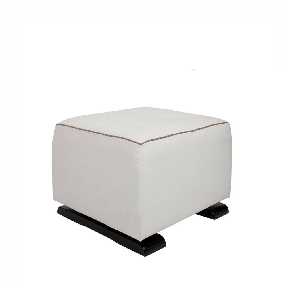 Olli Ella On-It Gliding Ottoman - Snow - Feeding Chairs