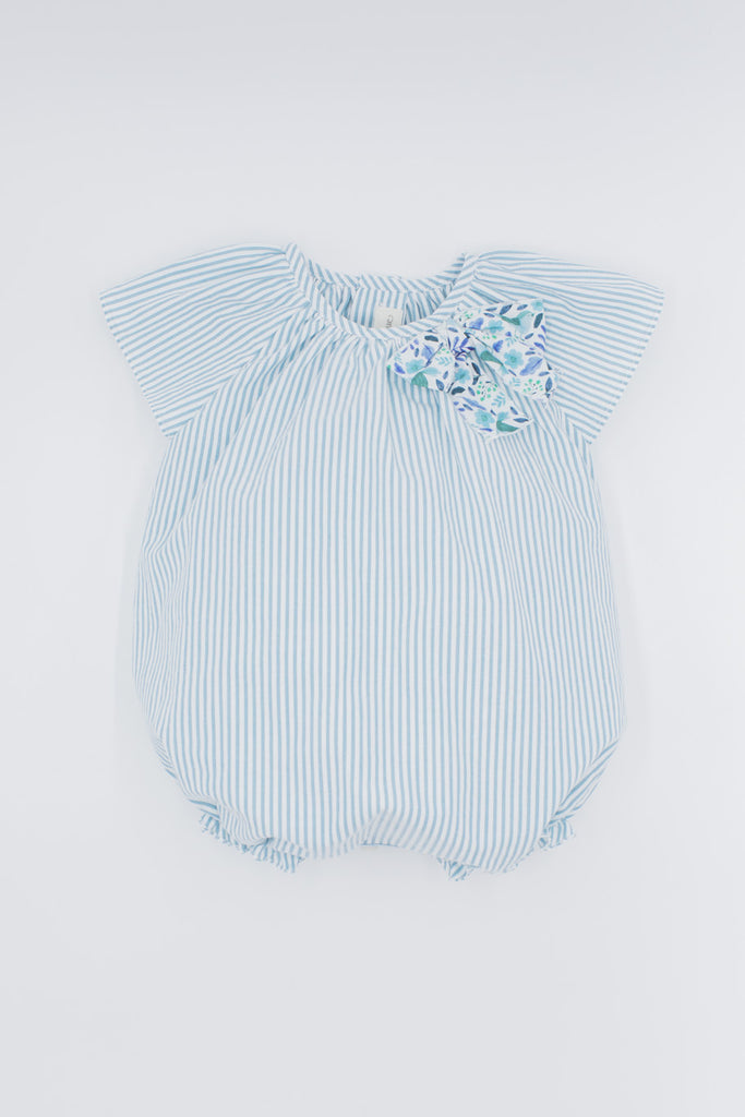 Fina Ejerique - Striped Bodysuit with Bow - The Baby Service