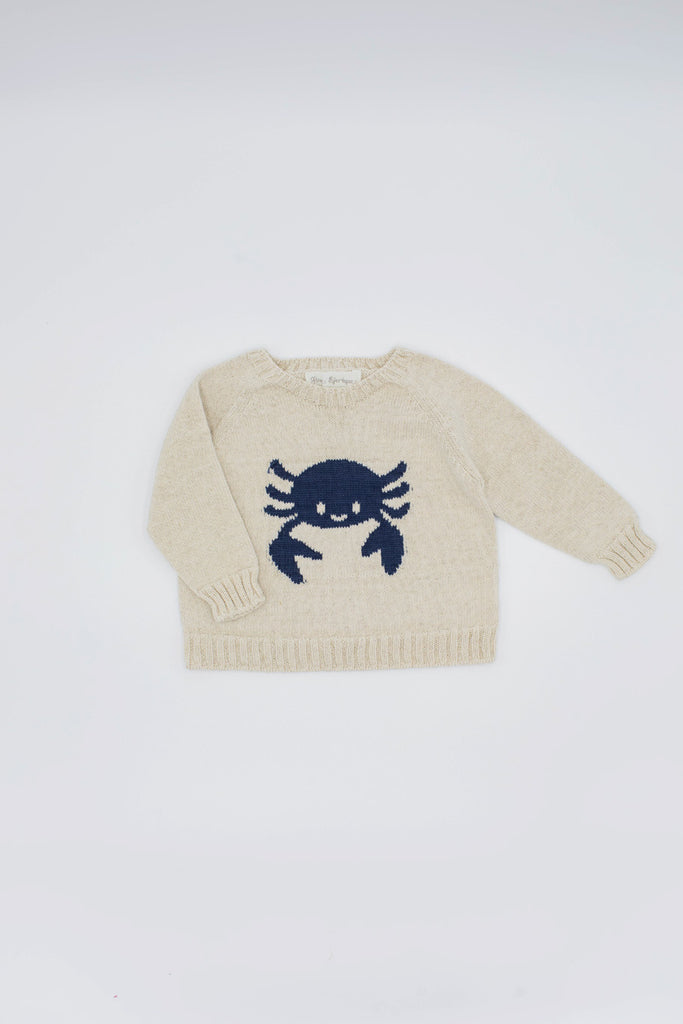 Fina Ejerique - Crab Jumper Sweatshirt - The Baby Service
