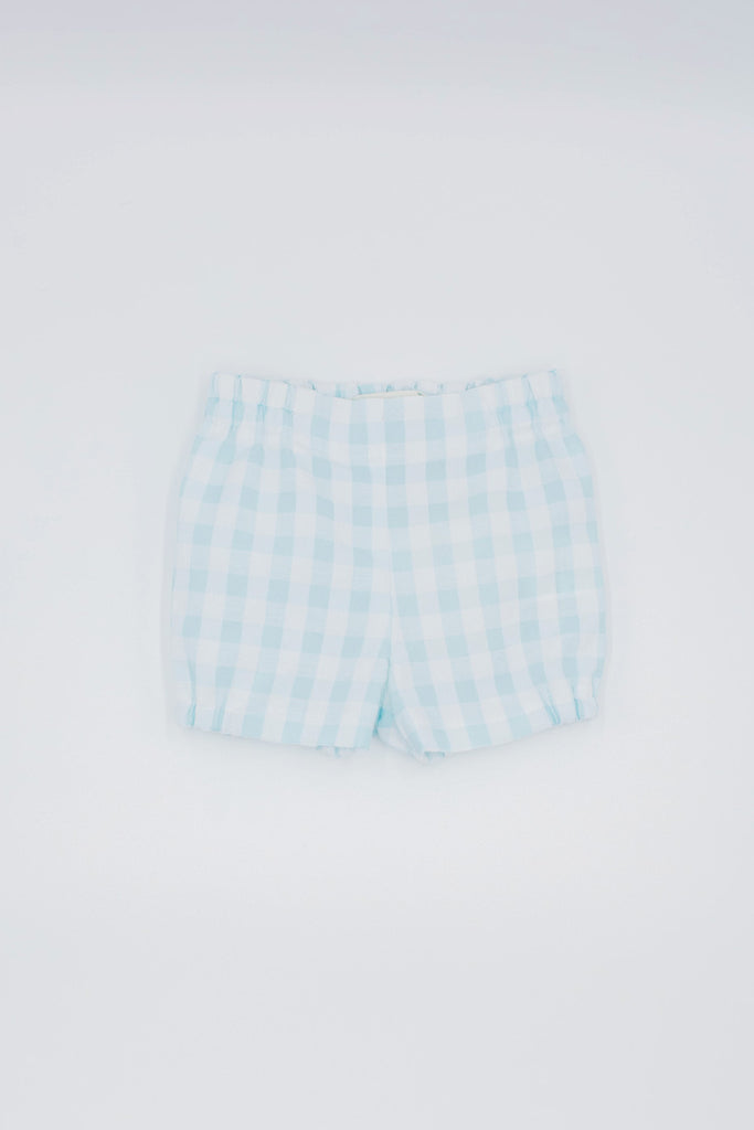 Fina Ejerique - Mint Gingham Shorts