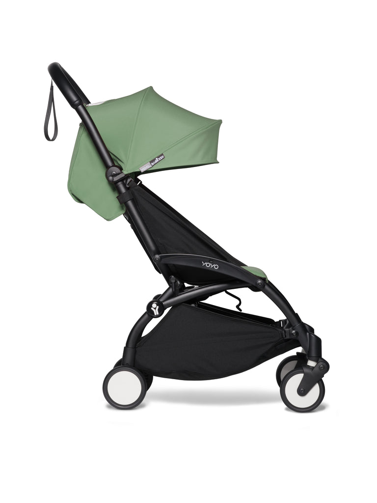 BABYZEN YOYO² Stroller - Peppermint - Travel Pushchair - The Baby Service Black Frame