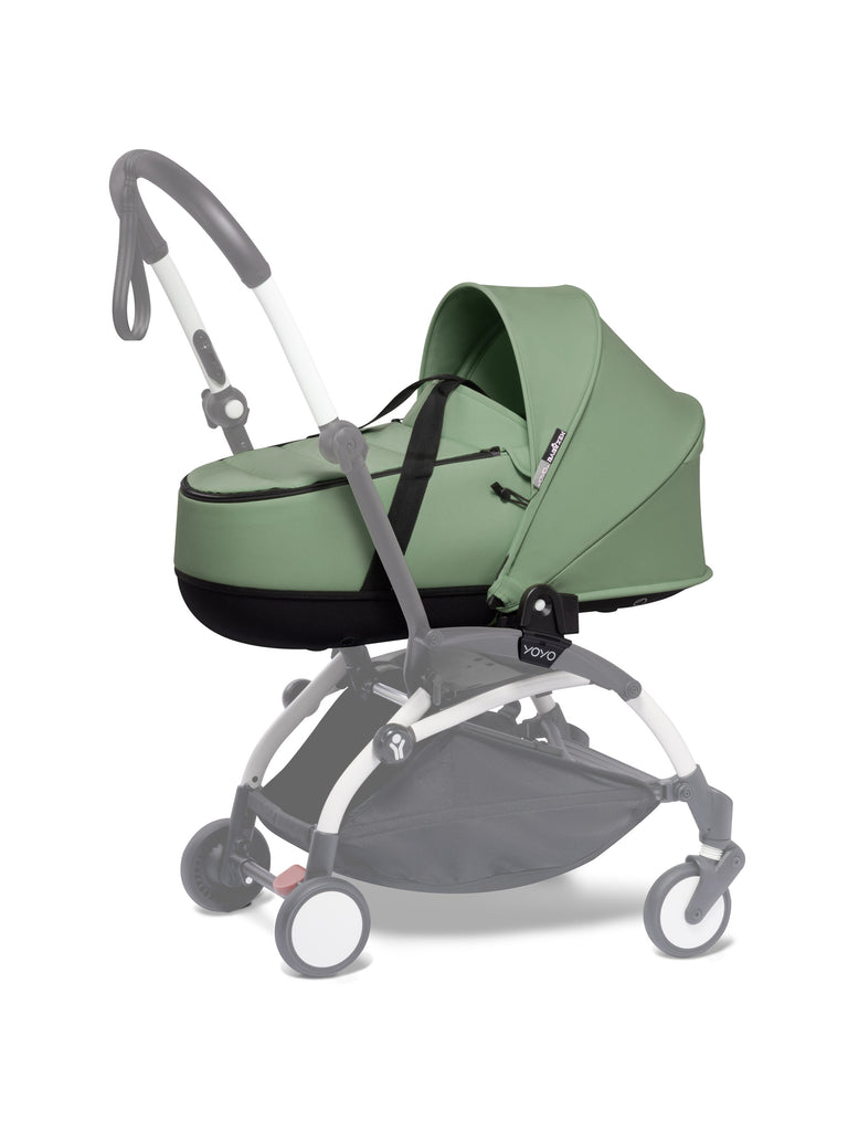 BABYZEN YOYO Bassinet - Peppermint - The Baby Service - Travel Buggy