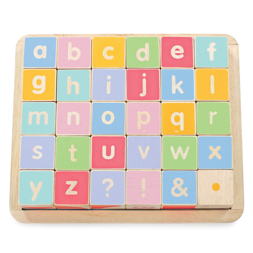 Le Toy Van ABC Wooden Letter Building Blocks