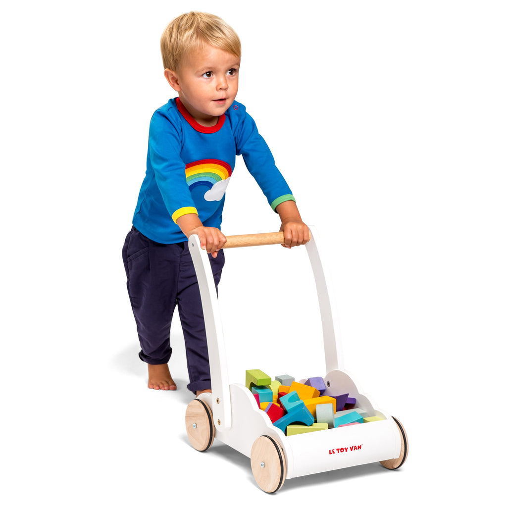 Le Toy Van Rainbow Cloud Learn to Walk Walker