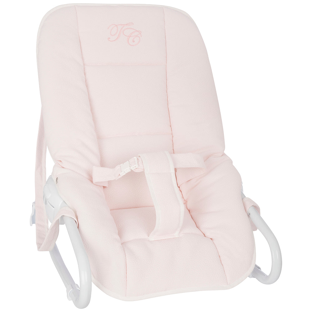 Tartine et Chocolat Bouncer - Pink - The Baby Service